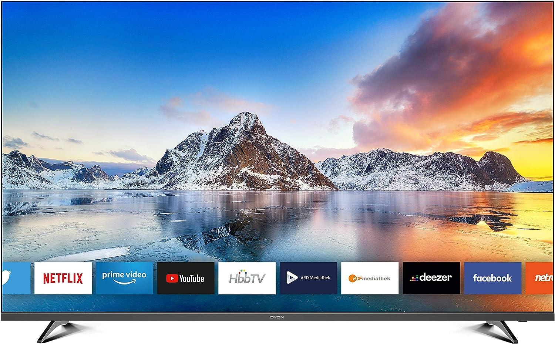Dyon Movie Smart 55 Xt 138 7 Cm 55 Zoll Fernseher 4k Ultra Hd Smart Tv Hd Triple Tuner Dvb C S2 T2 Prime Video Netflix Hbbtv Modelljahr 2020 Heimkino Tv Video