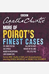 More of Poirot's Finest Cases: Seven Full-Cast BBC Radio Dramatisations Audible Audiobook