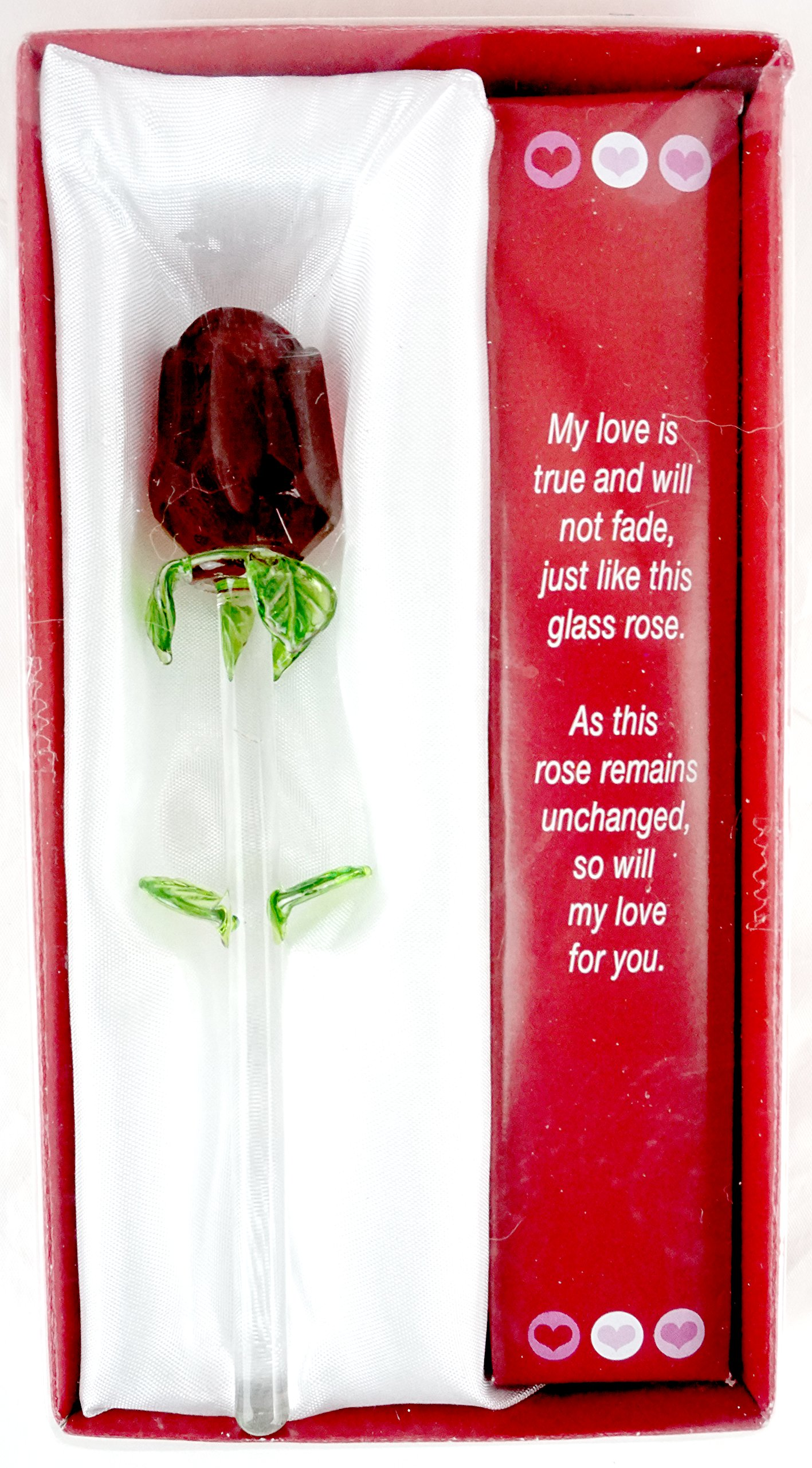Forever Rose   Valentines Day Or Special Occasion   Say I Love You With  This Handmade
