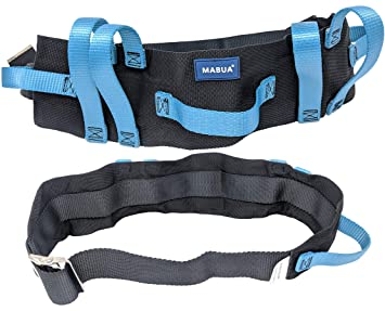 Amazon.com: Physical Therapy Transfer Walking Gait Belt with 7 ...