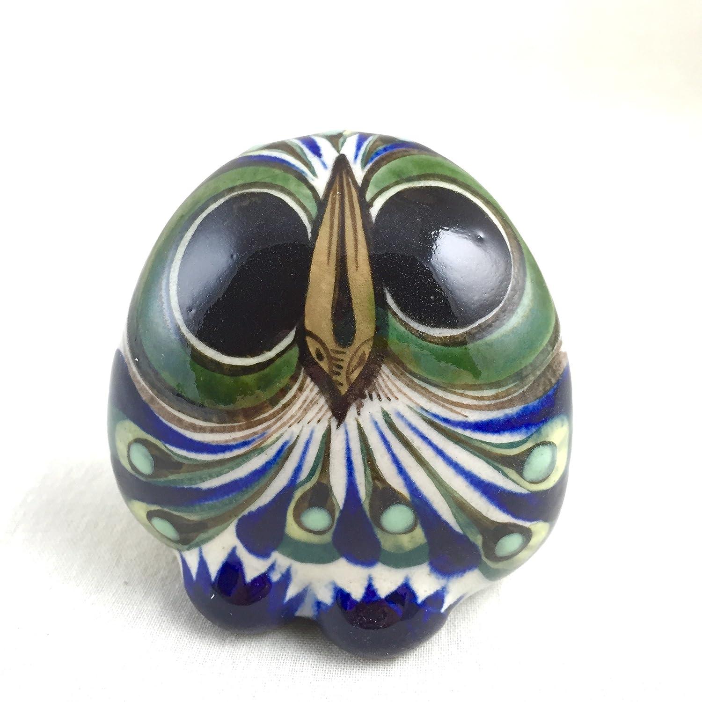 Altiplano Hand Painted Ceramic Owls Fair Trade Guatemala