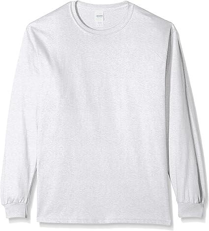 TALLA XXL. Gildan Ultra de algodón de manga larga camiseta