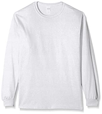 13a120dd89b Gildan Men s Ultra Cotton Long-Sleeve T-Shirt  Amazon.ca  Sports   Outdoors