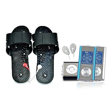 Amazon Pchlife Tens Stimulator Shoe Combo Massager Blue
