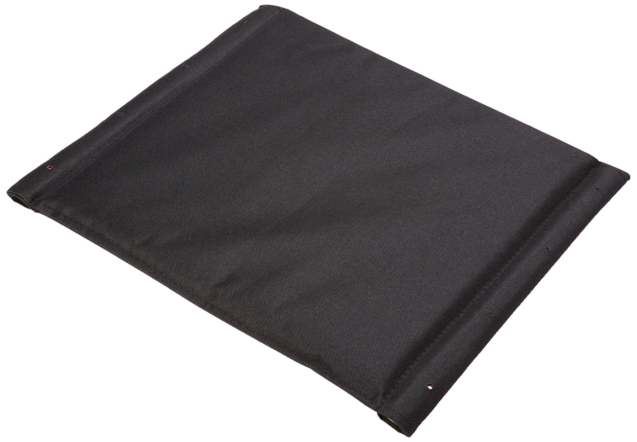 Graham-Field 907632B2 Seat Upholstery, 18W and Hardware, Black Nylon