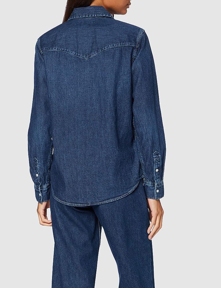 Levis Essential Western Shirt, Air Space, XS para Mujer: Amazon.es: Ropa y accesorios