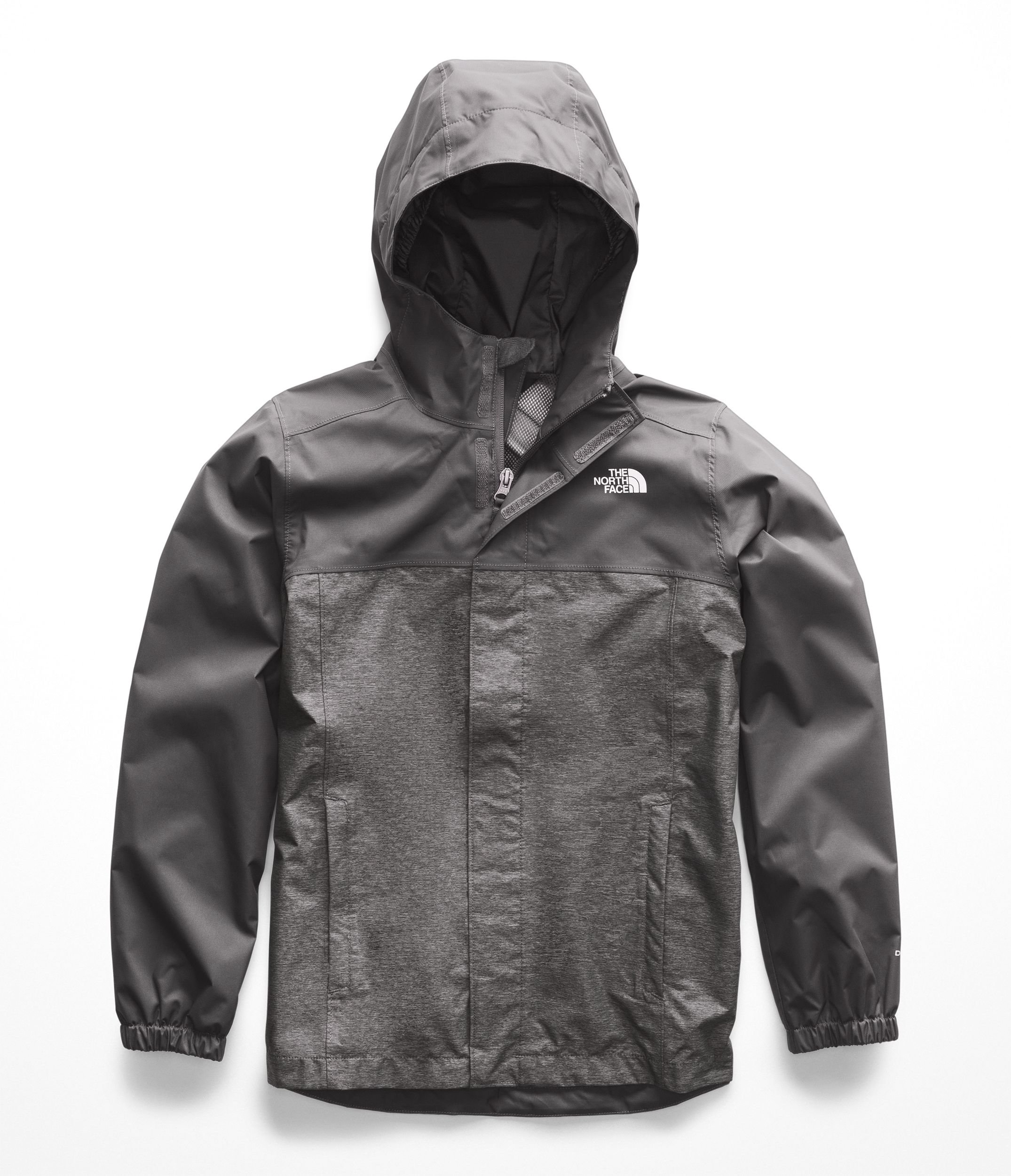 The North Face Boys Resolve Reflective Jacket - Graphite Grey Heather - L