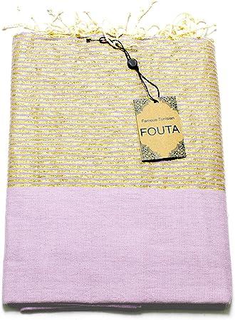 Fouta lurex serviette de hammam pour sauna serviette Pestemal peshte fois XXL Extra Large 197 x 100 cm Oriental turc serviette de bain /écharpe pour salle de bain yoga Orang pique-nique ... 100/% coton en Tunisie comme Serviette de plage