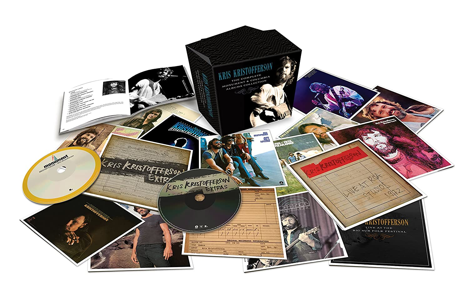 Kris Kristofferson  Theplete Monument & Columbia Album Collection   Amazon Music