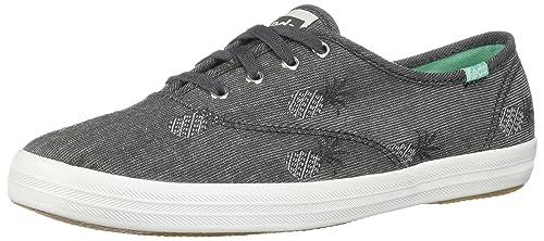 313c116374e Keds Women s Champion Pineapple Chambray Sneakers  Amazon.ca  Shoes ...