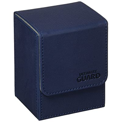 Ultimate Guard Flip Deck Case 80+ XenoSkin Standard Size Blue Card Game: Toys & Games