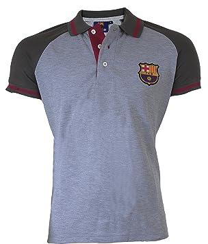 Camiseta polo del Barça - Colección oficial del FC Barcelona, para hombre, talla de adulto, Hombre, gris, XXL: Amazon.es: Deportes y aire libre