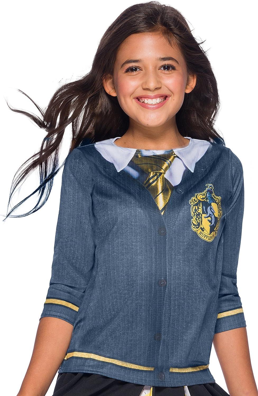 Harry Potter Costume Top, Hufflepuff, Medium