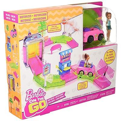 Barbie Car Wash Playset: Toys & Games