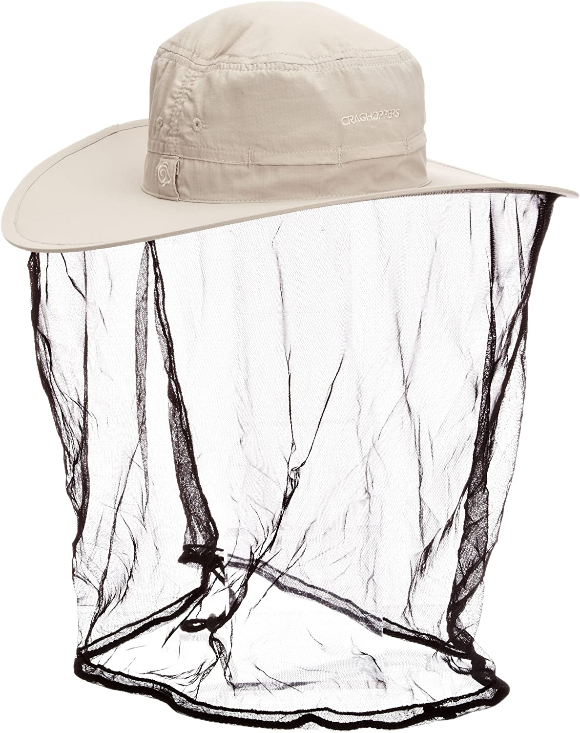 With Mosquito Net Craghoppers NosiLife Ultimate Travel Hat Parchment