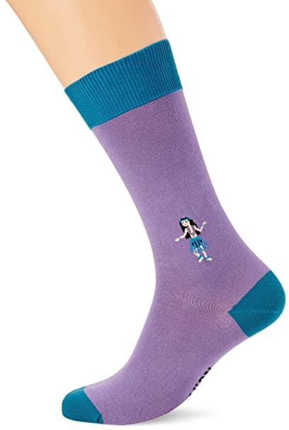 Jimmy Lion Mini Hula, Calcetines para Hombre, Morado (Mallow), 41-
