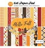 "Carta Bella Paper Company CBHF70015 Hello Fall 6x6 Paper Pad, 6"" x 6"""