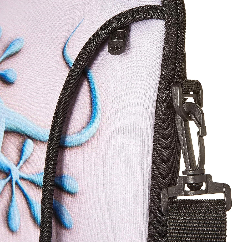 Ektor 10-17.6 Pouces Sac Bandouli/ère Sacoche Housse Pochette pour Ordinateurs Portables Souple avec Poign/ée Partie 2 de 2 Plusieurs Tailles et Motifs Disponibles.