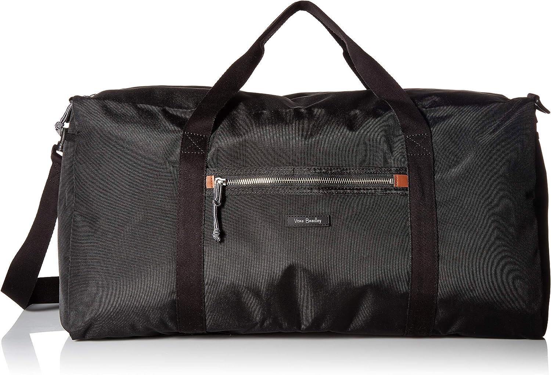 Vera Bradley Women's Duffle Lighten Up Large Duffel Travel Bag, Petite Vines, One Size