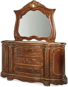 Michael Amini Cortina Dresser, Honey Walnut