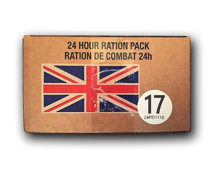 UK BRITISH Army Foreign MRE combat ration pack FSR IRP IMP ORP EPA 10/2016 fresh[Menu 17]