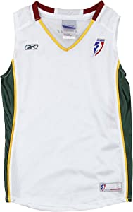 Seattle Storm WNBA Big Girls Home Replica Jersey - White
