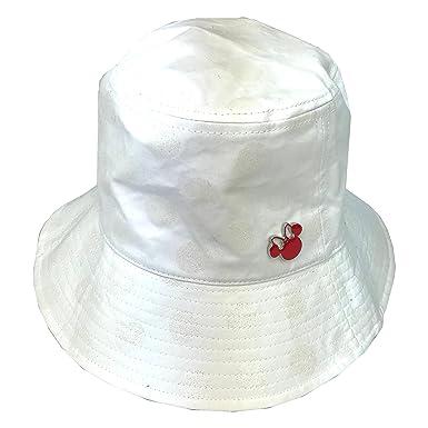 4c806746d4c Disney Parks Minnie MouseEars Icon Bucket Sun Hat White Women Girls ...