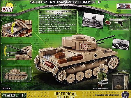 Sd.Kfz.121 Panzer II Ausf F Neu WWII Dt Cobi 2527 Small Army