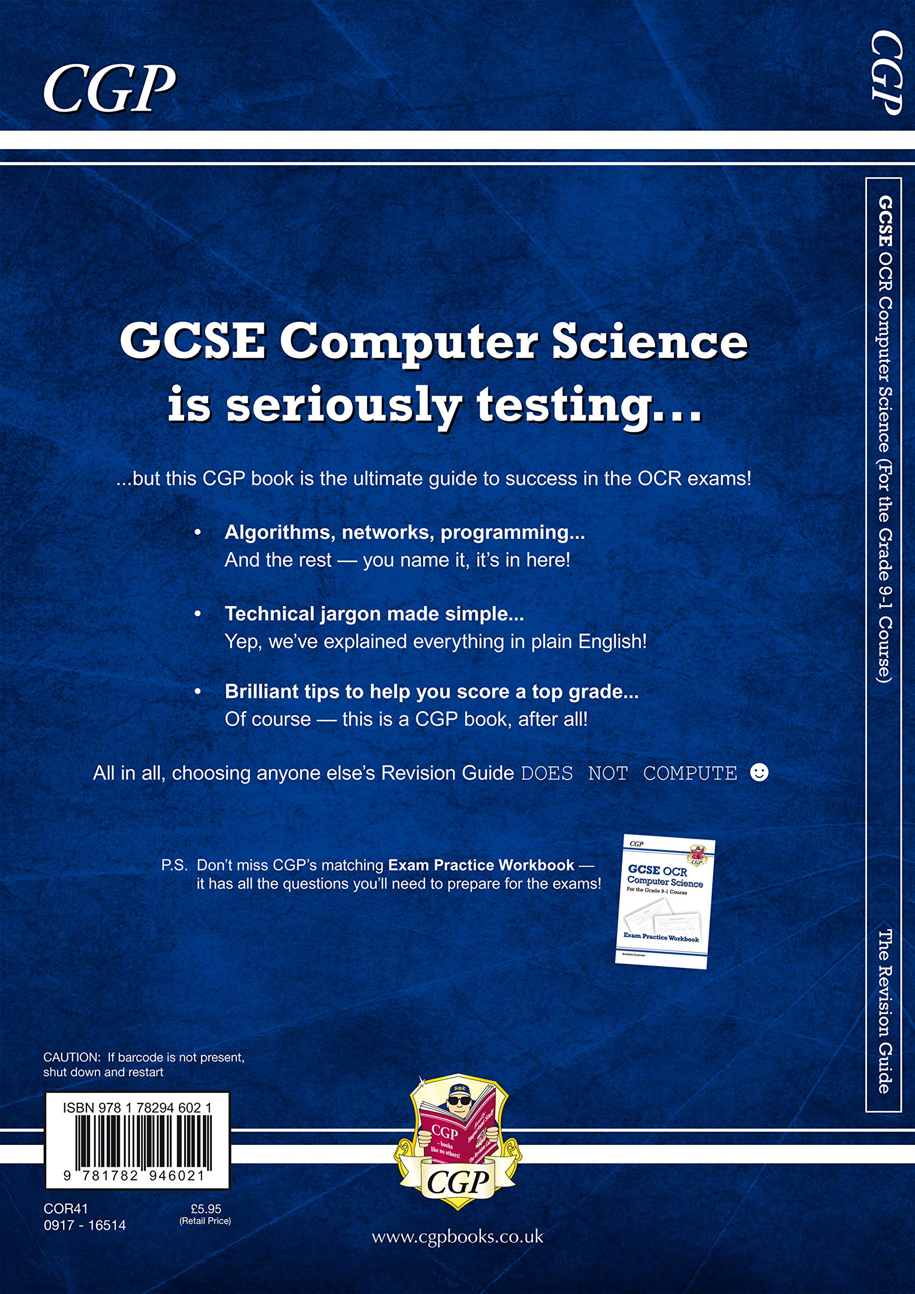 GCSE Computer Science OCR Revision Guide - for the Grade 9-1