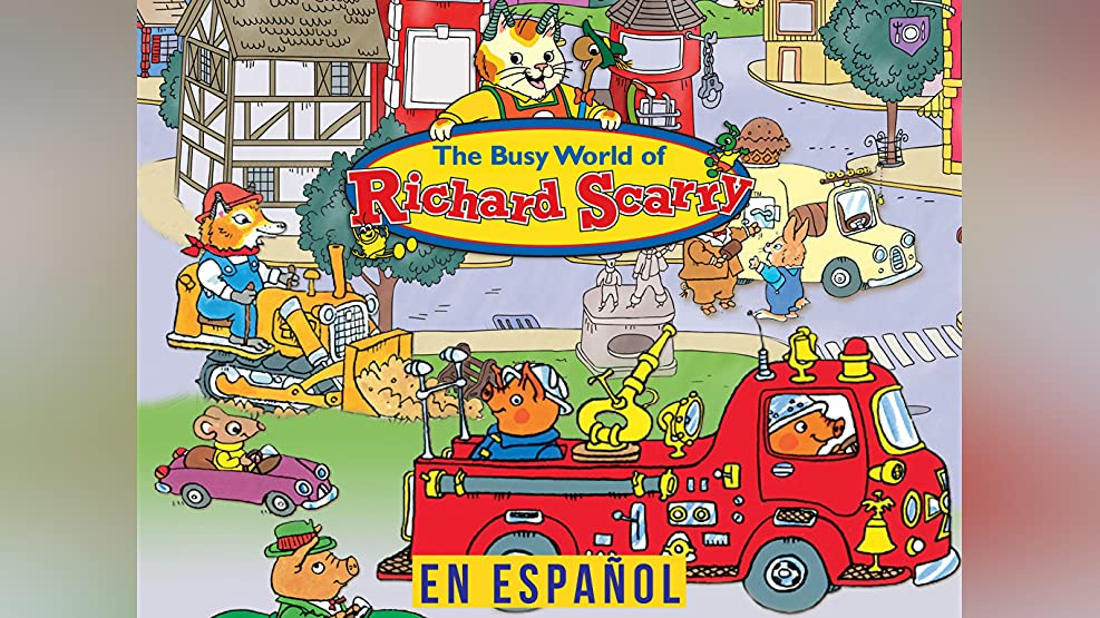 El mundo fantástico de Richard Scarry