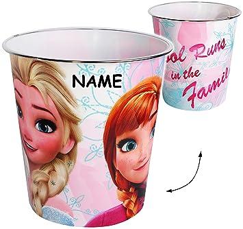 Disney Frozen Die Eiskönigin Papierkorb oder Mülleimer