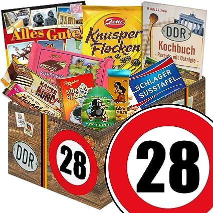 Geschenk Zum 28 Geburtstag Jubilaum Ortsschild Geschenkidee Party
