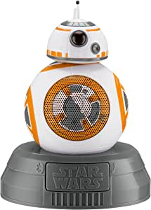 Star Wars BB-8 Droid Bluetooth Speaker with Speakerphone Compatible with iPhone, Samsung, Tablets and All Other Bluetooth Devices.