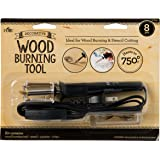 Plaid wood burning and stencil cutting tool,