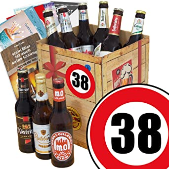 Geschenk Ideen Biersorten Ostdeutsch Zahl 38