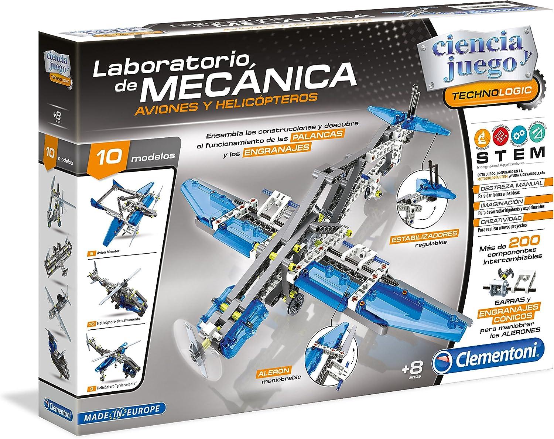 Clementoni - Laboratorio de mecánica, Aviones y helicópteros (55160.6)