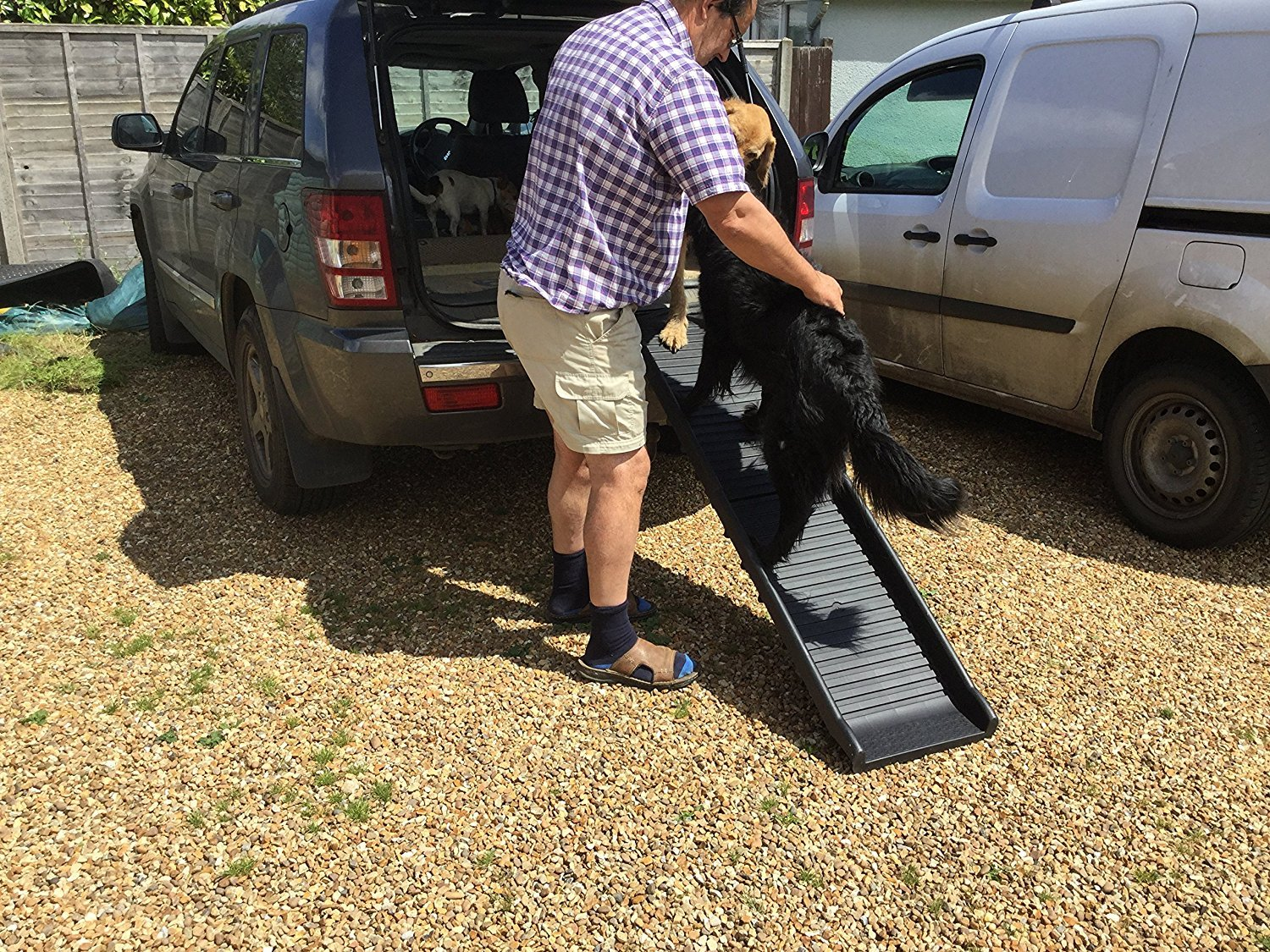 Pet Ramp Safety Engineered by Doghealth Lightweight and Strong