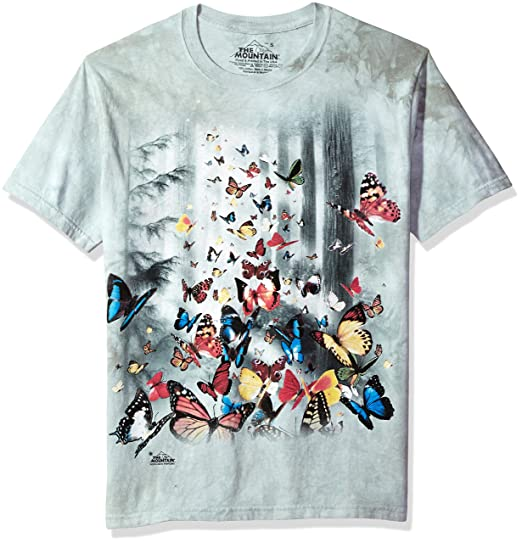 279bed382112af Amazon.com: The Mountain Kids Butterflies T-Shirt: Clothing