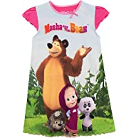Masha and the Bear Camisón para Niñas Masha y el Oso