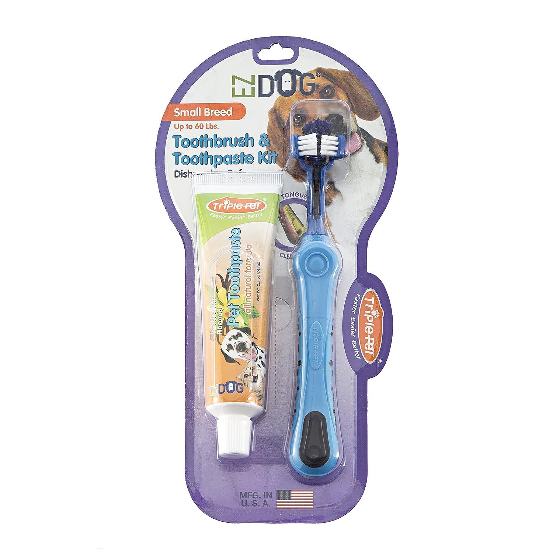 SKAFFLES Triple Pet EZDOG Dental Kit for Large Breeds FFP4539ST