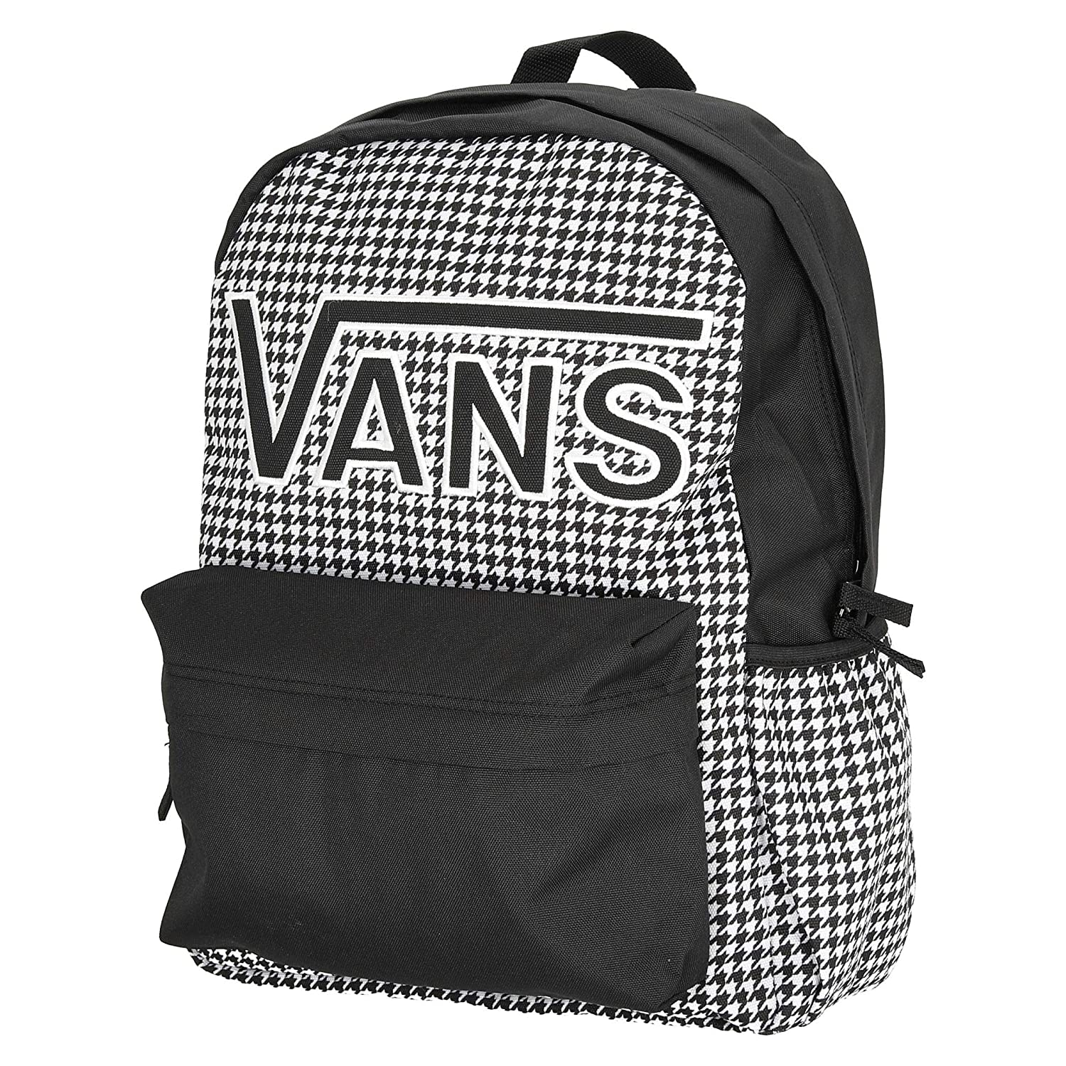 Vans REALM FLYING V BACKPACK BLANCA Y NEGRA