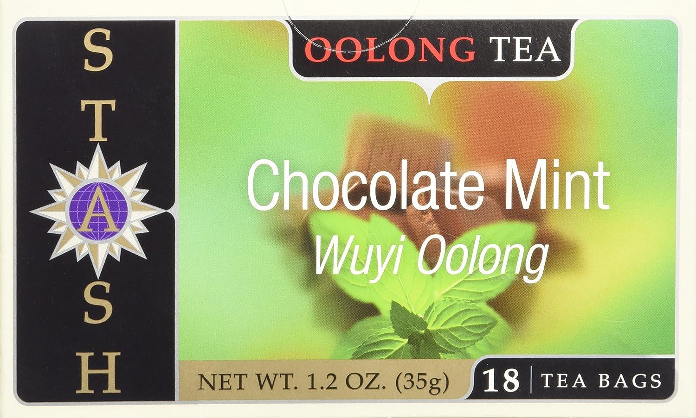 Stash Tea Tea Oolong Chocolate Mint - 18 Count