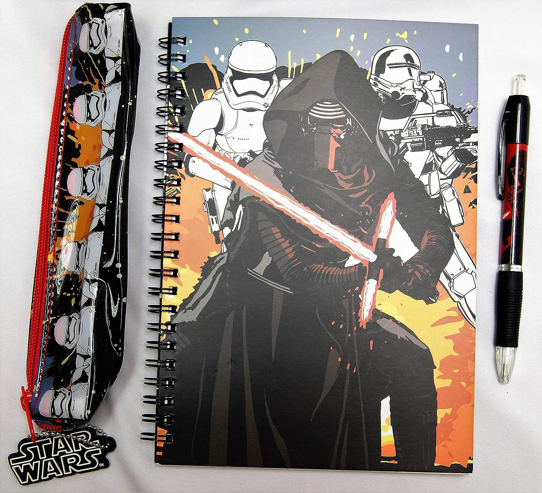 Amazon.com   Star Wars Episode 7 Filled Backpack, School Bag Set(Set Of 5pc) Official Licensed   Kids Backpacks