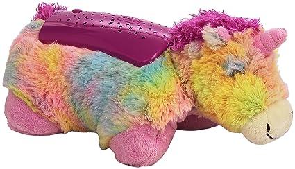 amazon com pillow pets rainbow unicorn dream lites toys \u0026 gamesimage unavailable image not available for color pillow pets rainbow unicorn