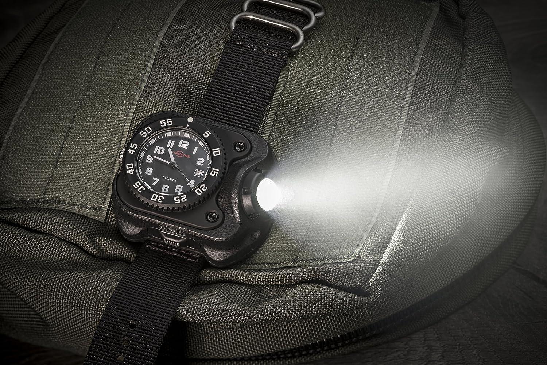 2211-A-BK Surefire Rechargeable Variable-sortie DEL Wristlight Noir