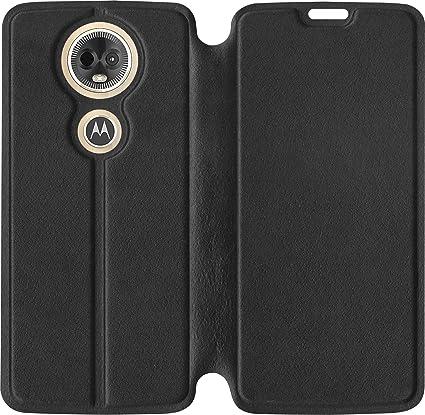 huge discount 381c6 249c2 SBMS Moto E5 Plus Flip Cover (Black)
