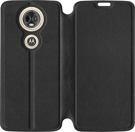 huge discount ee60e 51348 SBMS Moto E5 Plus Flip Cover (Black)