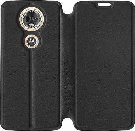 huge discount 268e6 5c06c SBMS Moto E5 Plus Flip Cover (Black)