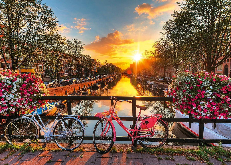 Ravensburger Bicicletas en Amsterdam - Puzzle Fotos y paisajes ...