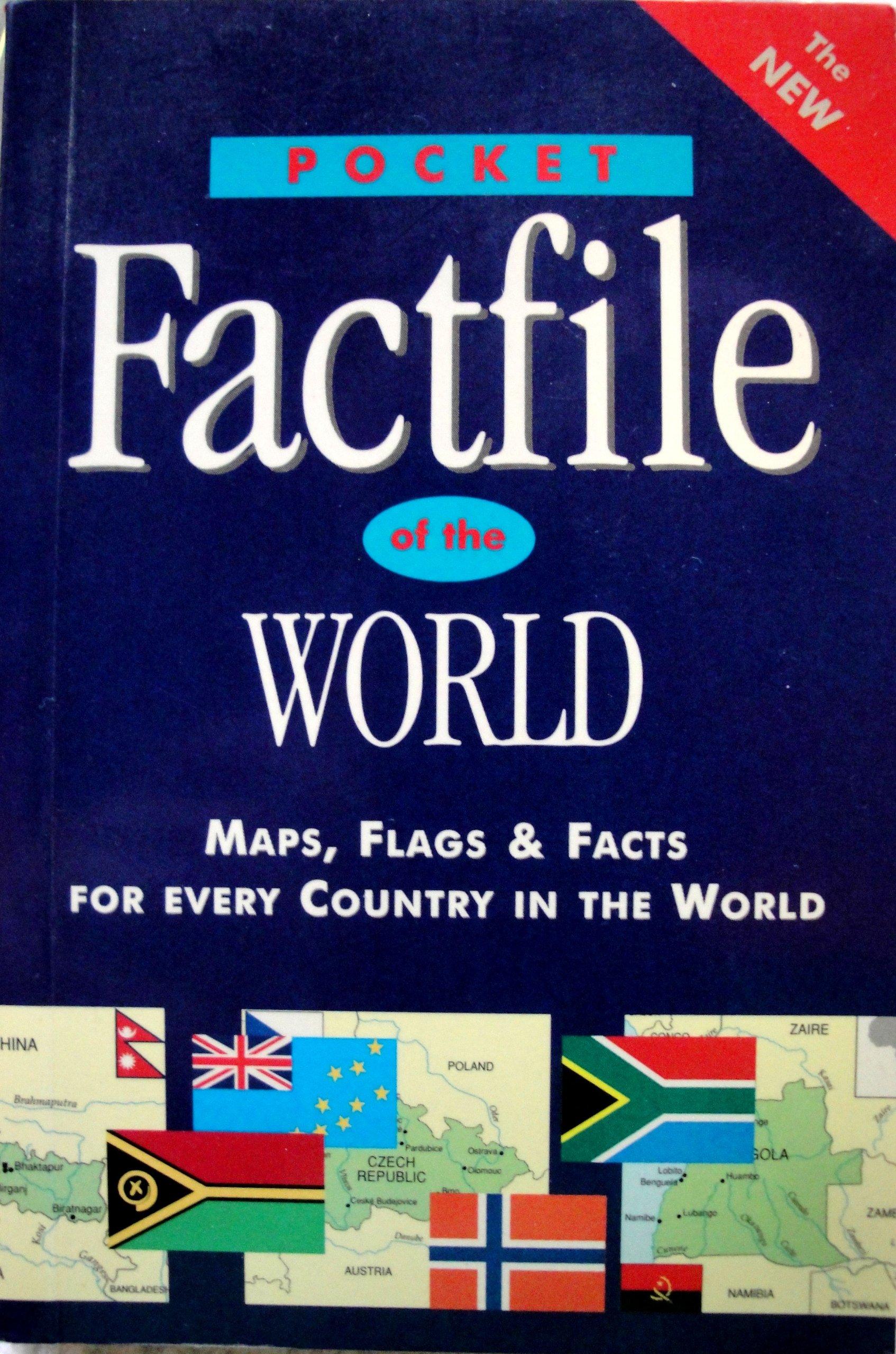 Pocket Factfile of the World: Amazon co uk: Fiona Gold